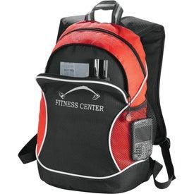 Monogrammed Boomerang Backpack