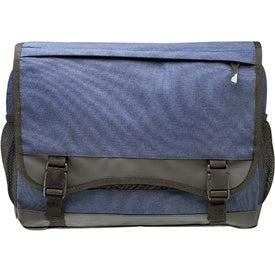 Bordeaux Fabric Messenger Bag