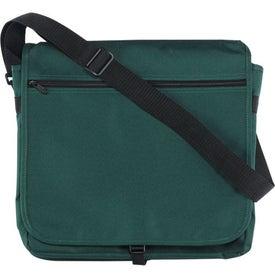 Branded Bostonian Messenger Bag