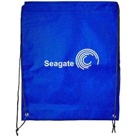 Imprinted Braided Drawstring Bag