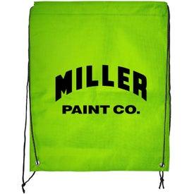 Personalized Braided Drawstring Bag