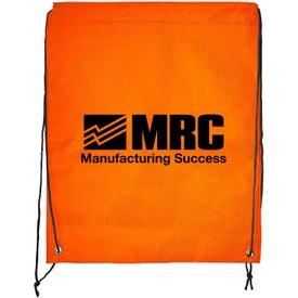 Advertising Braided Drawstring Bag