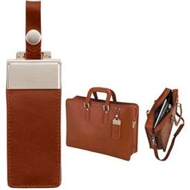 Company Brescia Panarcci Leather Briefcase