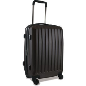 "Customized Brookstone Dash 20"" Upright Wheeled Luggage"