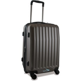 "Brookstone Dash 20"" Upright Wheeled Luggage Branded with Your Logo"