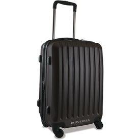 """Imprinted Brookstone Dash 20"""" Upright Wheeled Luggage"""