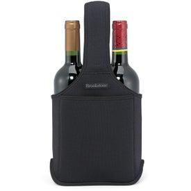 Imprinted Brookstone Neoprene Wine Caddy