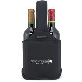 Logo Brookstone Neoprene Wine Caddy