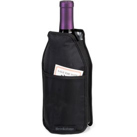 Company Brookstone Wine Chiller Sleeve