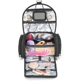 Brookstone Women's Amenity Case Imprinted with Your Logo