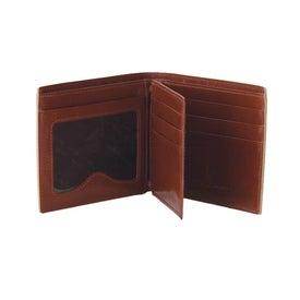 Printed Brown Wallet
