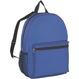 Budget Backpack Imprinted with Your Logo