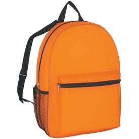 Budget Backpack Printed with Your Logo