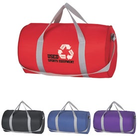 Budget Duffle Bag (Silk Screened)