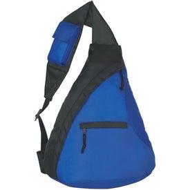 Logo Budget Sling Backpack