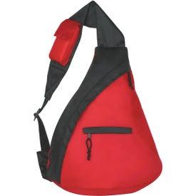 Monogrammed Budget Sling Backpack