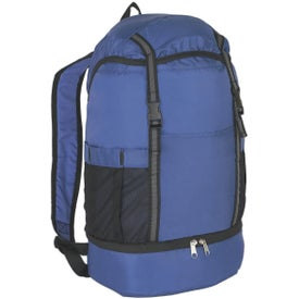 Budget Sports Backpack with Insulated Bottom for Marketing