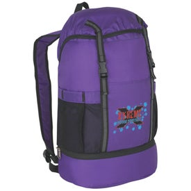 Budget Sports Backpack with Insulated Bottom Printed with Your Logo