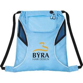 Logo Bumblebee Drawstring Cinch Backpack