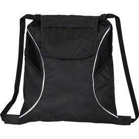 Imprinted Bumblebee Drawstring Cinch Backpack