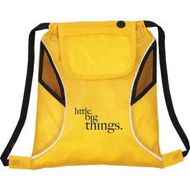 Bumblebee Drawstring Cinch Backpack for Your Church