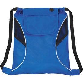 Custom Bumblebee Drawstring Cinch Backpack