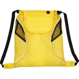 Company Bumblebee Drawstring Cinch Backpack