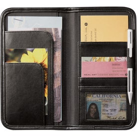 Customized Burke Travel Wallet