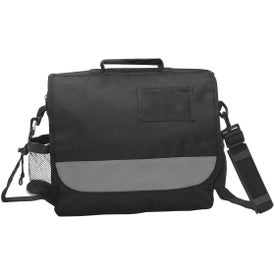 Company Polyester Business Messenger Bag with ID Pocket