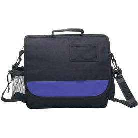 Business Messenger Bag with ID Pocket for Your Company