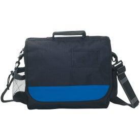 Logo Polyester Business Messenger Bag with ID Pocket
