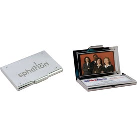 Business Card Holder with Photo Frame