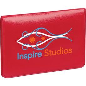 Branded Business Card/License Holder