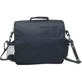 Printed Business Messenger Bag with ID Pocket