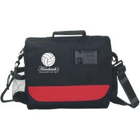 Business Messenger Bag with ID Pocket (Screen Print)