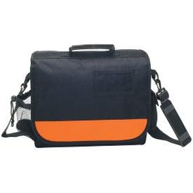 Imprinted Business Messenger Bag with ID Pocket