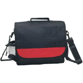 Business Messenger Bag with ID Pocket (Embroidered)