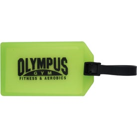 Advertising Business Card Luggage Tag