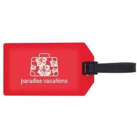 Business Card Luggage Tag with Your Slogan
