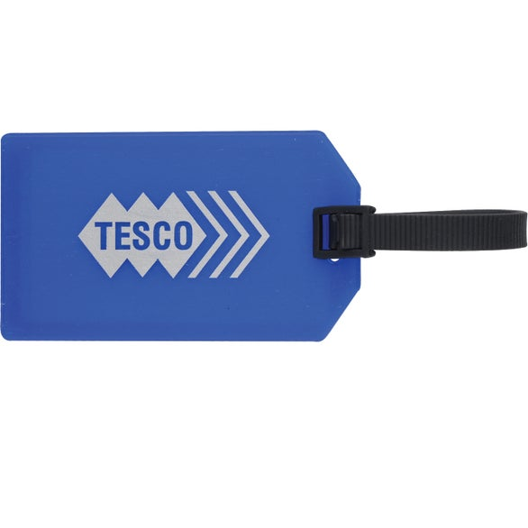 Blue Business Card Luggage Tag