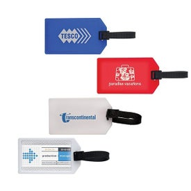 Printed Business Card Luggage Tag