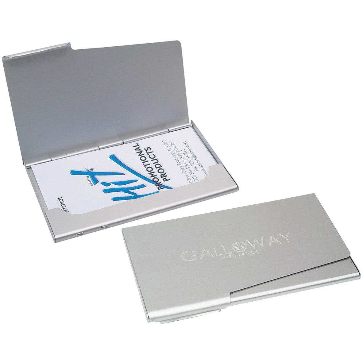 Promotional Business Card Holders With Custom Logo For 258 Ea