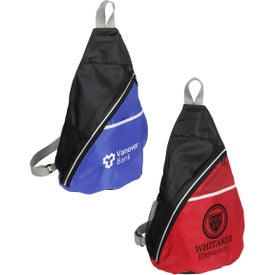 Branded Busy Day Sling Backpack