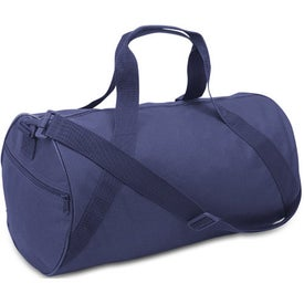Branded Cafiso Barrel Duffel Bag