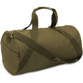 Cafiso Barrel Duffel Bag with Your Slogan