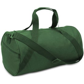 Cafiso Barrel Duffel Bag Branded with Your Logo