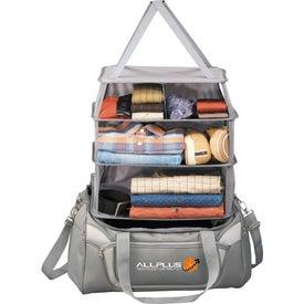 Monogrammed California Innovations Pack & Hang Duffel Bag