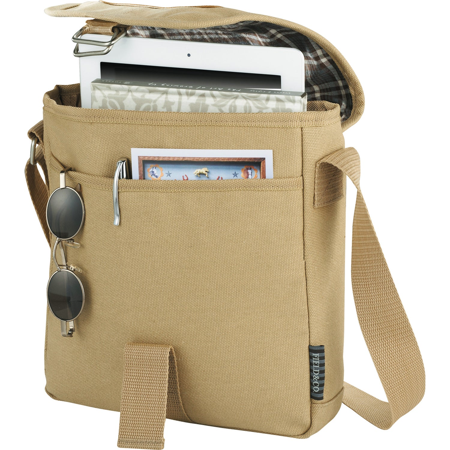 Promotional Field and Co. Cambridge Tablet Messenger Bags with ...