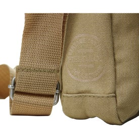 Field and Co. Cambridge Tablet Messenger Bag for Advertising