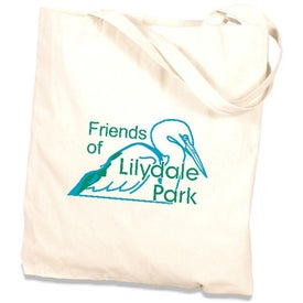 Canvas Book Tote Bag